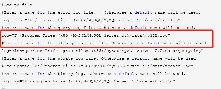 MySQL怎么打开查询日志