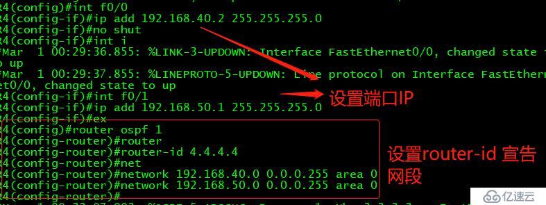 OSPF虚链路的配置