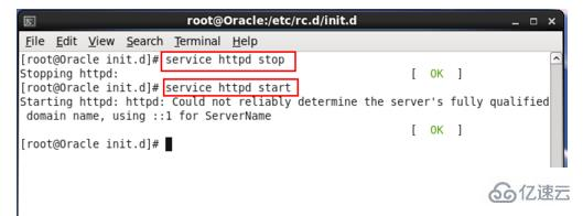 linux系统中启动apache服务器的方法