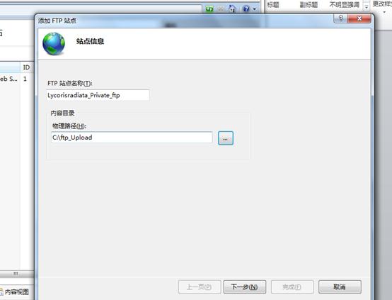 怎么在windows 7系统中构建一个FTP服务器