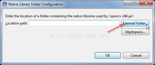 怎么在Eclipse中配置基于java的Opencv.