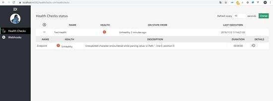 怎么在.Net Core中实现一个健康检查功能