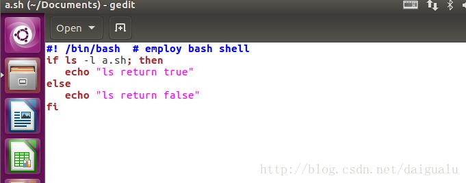 linux中shell脚本编写和运行的示例分析