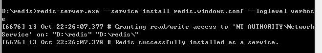 Redis在Window下如何实现类似linux中以守护进程方式运行服务
