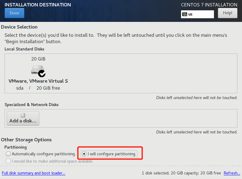 VMware怎么安装Centos7.x